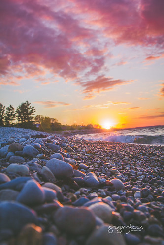 sunset lake beach beautiful canon michigan 24105 petoskey lseries t2i