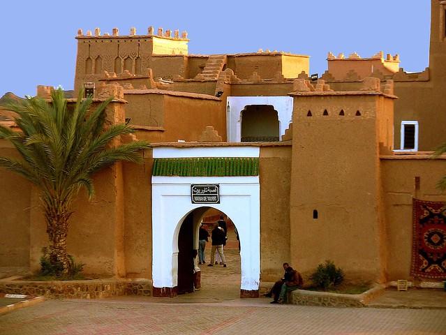 Marokko , Quarzazate,KasbahTaourirt, 9-2/2509