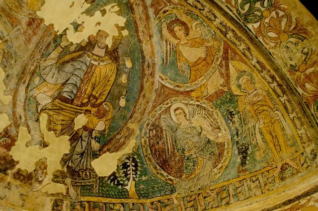 Pinturas murales de la iglesia de San Juan Bautista de Ruesta (Zaragoza). Museo Diocesano de Jaca (Huesca)