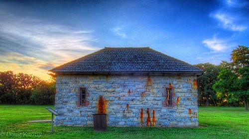 history sunrise nebraska unitedstates ne fortatkinson livinghistory powdermagazine fortcalhoun fortatkinsonstatehistoricalpark