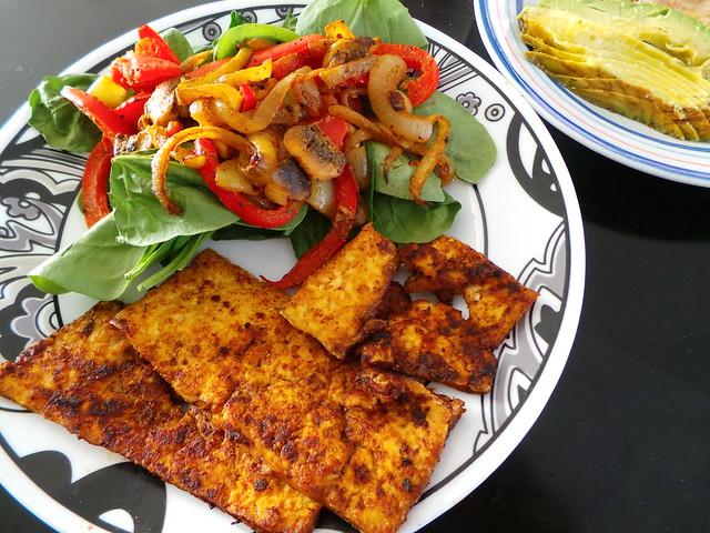 Crispy Tofu Lunch