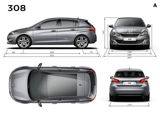 Peugeot 308 HB and SW Car of the Year 2014