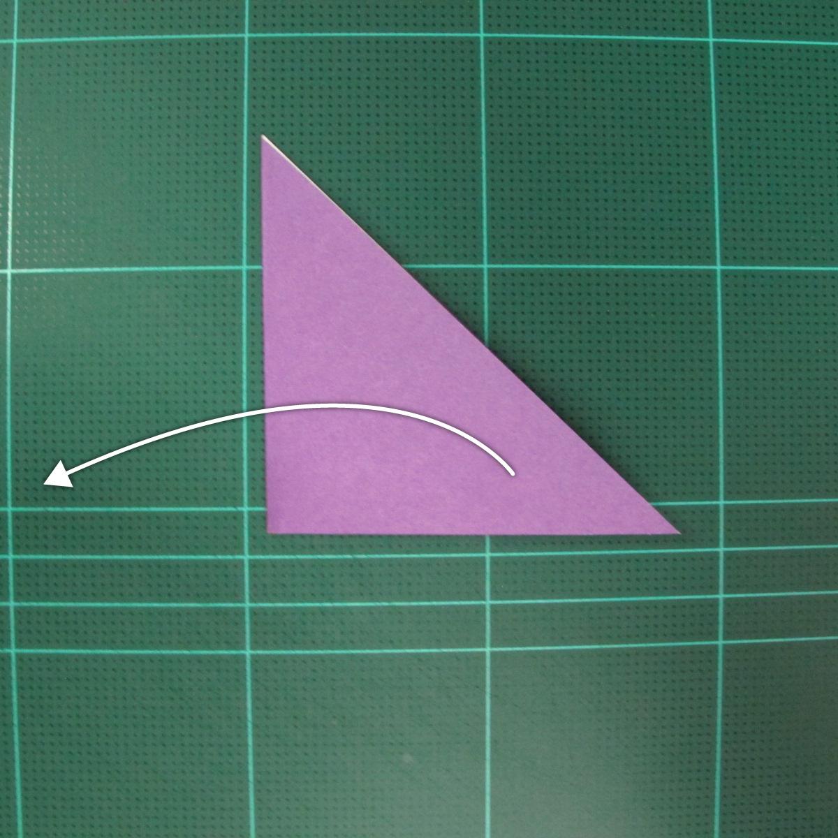วิธีพับกระดาษเป็นนกพิราบแบบง่าย (Easy Origami Pigeon) 003