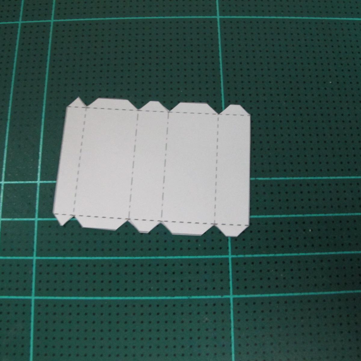วิธีทำโมเดลกระดาษตุ้กตา คุกกี้ รัน คุกกี้รสซอมบี้ (LINE Cookie Run Zombie Cookie Papercraft Model) 017