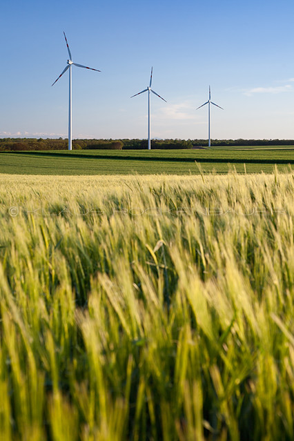 Vestas V90 windfarm, Matzen-Kleinharras, Austria