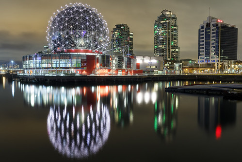 Science World Reflection | by Patrick Lundgren