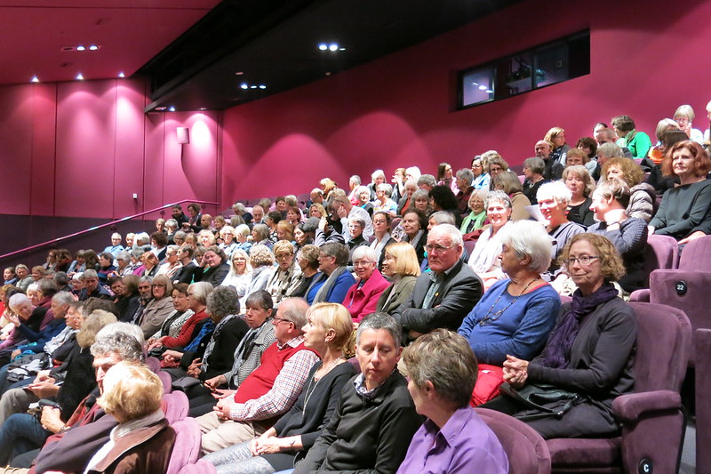 Audience at Jane Smiley - WORD Christchurch