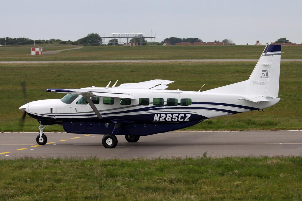 N265cz Cessna 208b Grand Caravan Ex Textron Aviation Inc Flickr