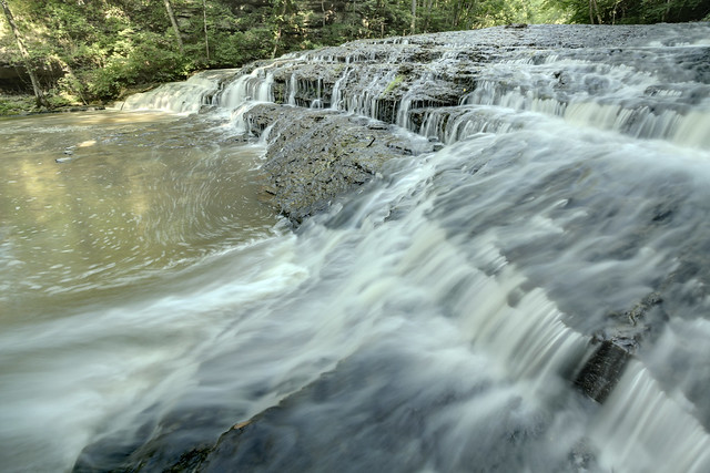 Taylor Creek Falls, Taylor Creek, White County, Tennessee 1