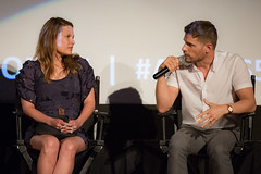 Kiele Sanchez and Matt Lauria