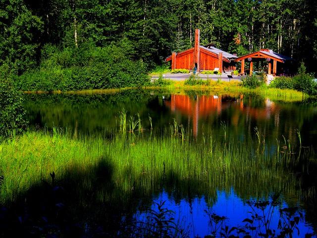 Native Alaskan Lodge
