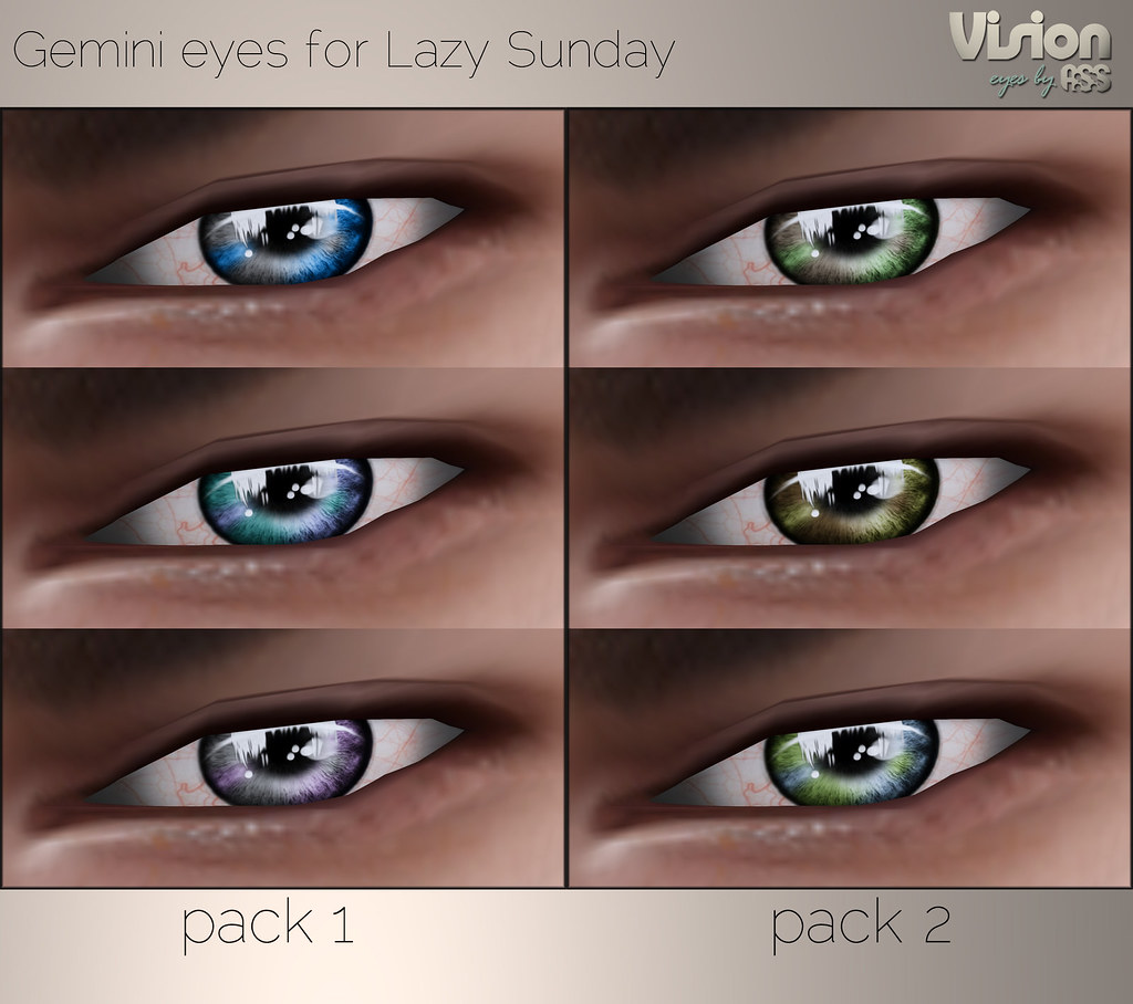 Vision by A:S:S - Gemini eyes for Lazy Sunday | anotherstupi… | Flickr