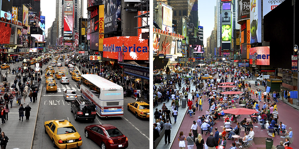 Image result for times square before and after