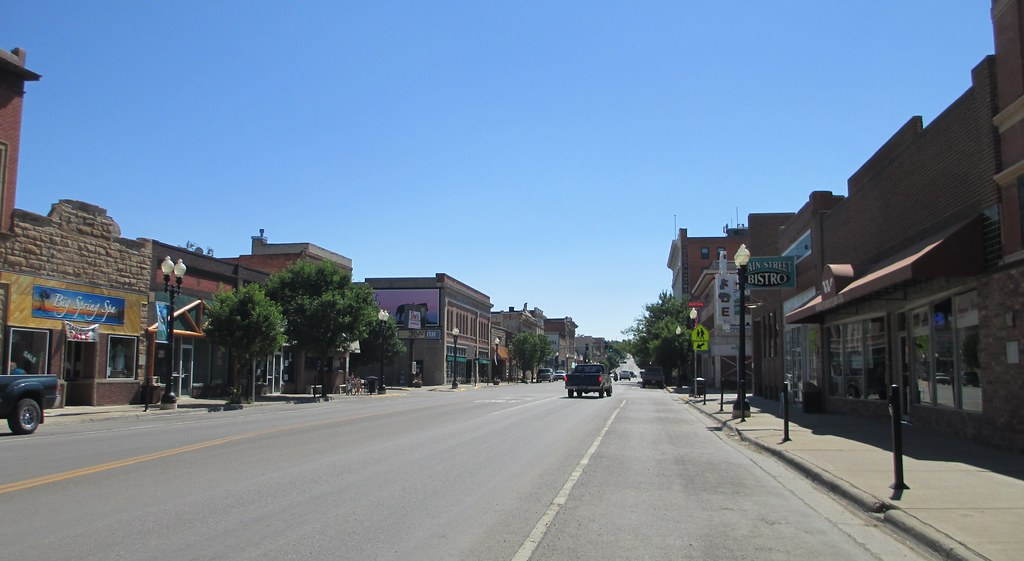 Downtown Lewistown, Montana   Lewistown is a lovely ...