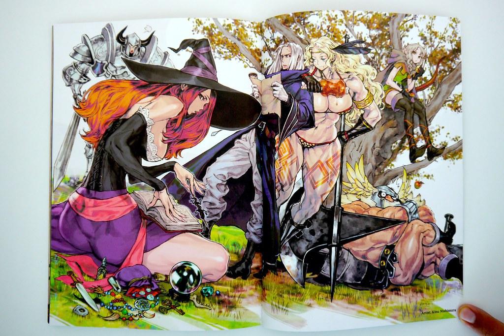 Dragon S Crown Artworks Concept Art From Kinu Nishimura