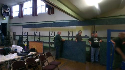 The stillage taking shape