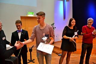 Brassbandfestivalen 2013 - Oscar Kvarnvik, Åsenhöga Missionskyrkas Brass Band - 1:a pris division 1 (Foto: Olof Forsberg)