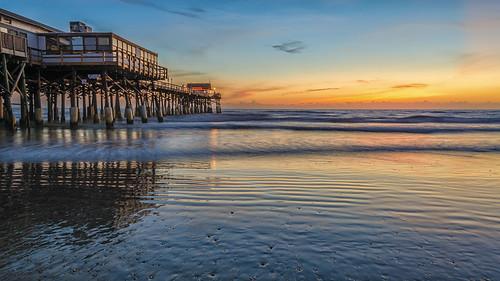 beach sunrise pier sand fav20 fav30 seashore cocoabeach fav10 fav40