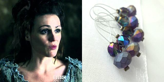 The Doctor's Wife - Exchanging Fire Stitch Markers
