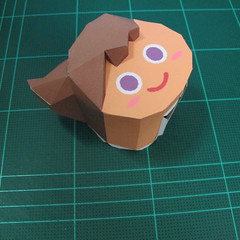 วิธีทำโมเดลกระดาษตุ้กตา คุกกี้สาวผู้ร่าเริง จากเกมส์คุกกี้รัน (LINE Cookie Run – Bright Cookie Papercraft Model) 010