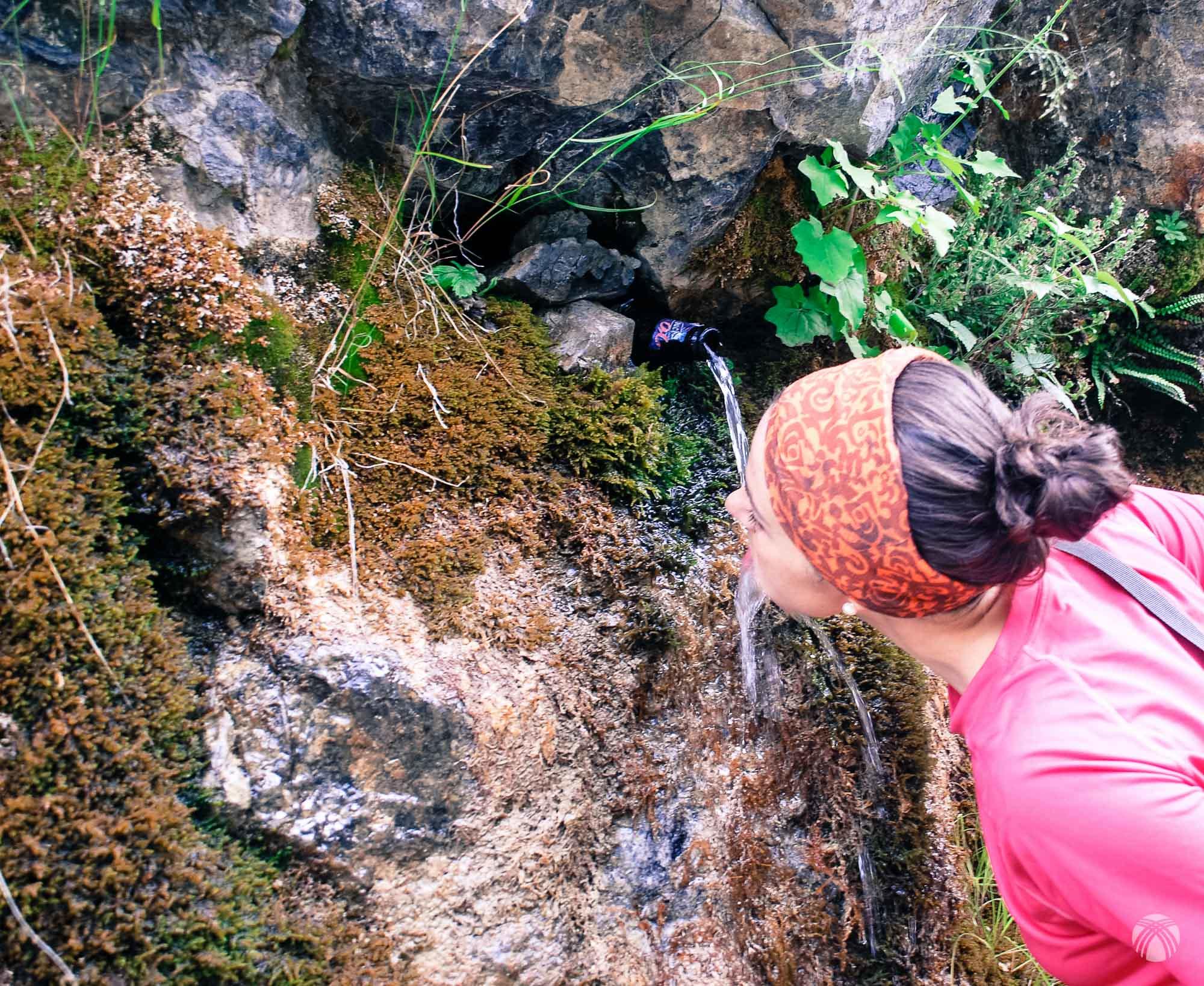 Agua por todo el recorrido