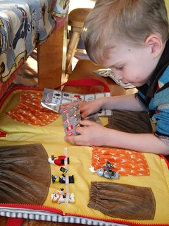 Sewing for Boys brick carry-all