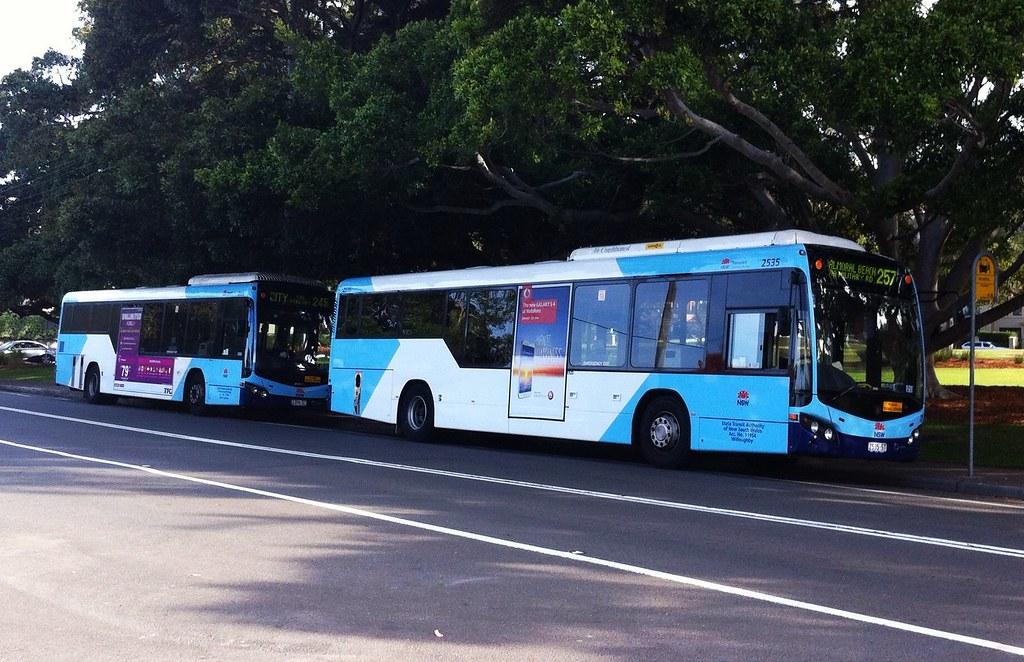 A bus in Sydney