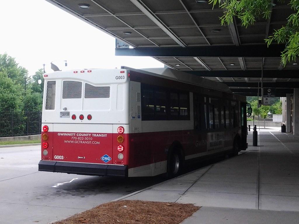 Gwinnett County Transit - 2005 Orion VII CNG # G003 part 1