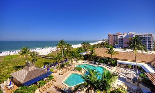 blue trees sky green beach pool weather hotel sand nikon day florida sunny clear palmtrees fl marcoisland nikond90