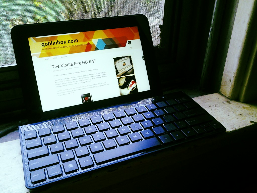 Bluetooth keyboard |    I ordered a keyboard for the tablet