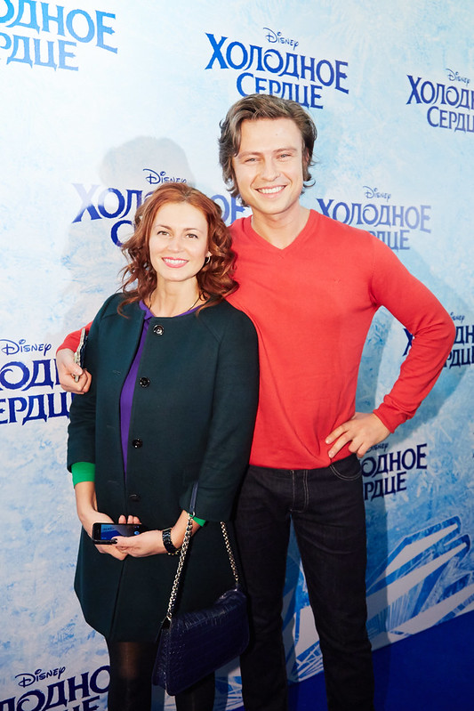 FROZEN_Moscow Premiere_Prokhor Shalyapin so sputnicey