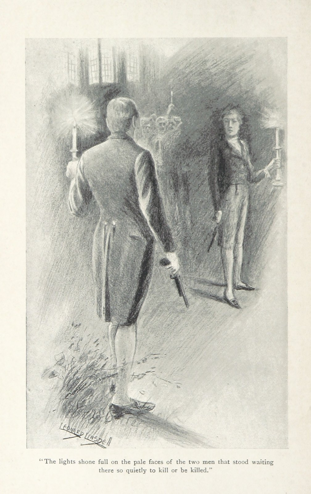 Image taken from page 198 of 'Lord Edward Fitzgerald. An historical romance ... With illustrations by L. Linsdell'