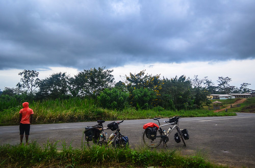 africa bicycle cameroon cameroun day403 rain sky freewheelycom cycling vélo cycletouring cyclotourisme velo jbcyclingafrica