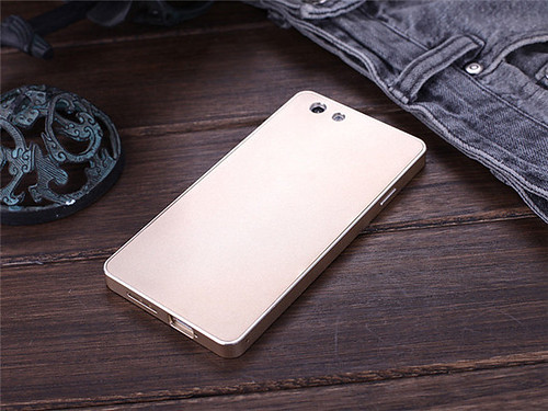 DAYJOY Luxury Aluminum Alloy Metal Bumper Protective Shell Case Cover for OPPO R1 R829T