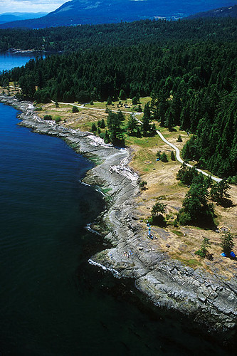 Ruckle Provincial Park, Saltspring Island, Gulf Islands, Georgia Strait, British Columbia, Canada