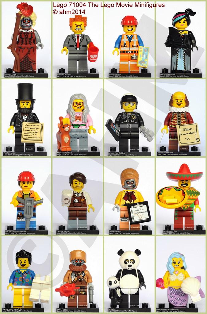 Lego 71004 The Lego Movie Minifigures Lego 71004 The Lego Flickr