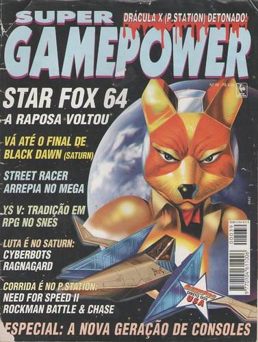 Super Gamepower n.39 - capa