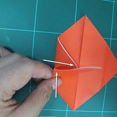 การพับกระดาษเป็นนกพิราบ (Origami pigeon) 00011