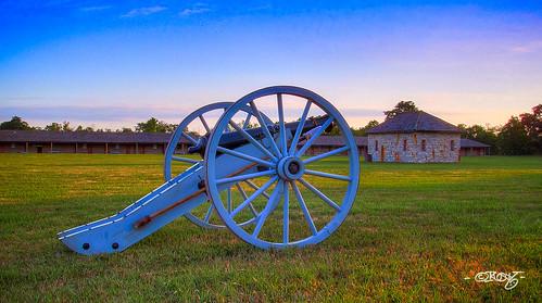 nebraska unitedstates cannon fortcalhoun sixpoundcanon 6poundcanon fortatkinsonsunrise