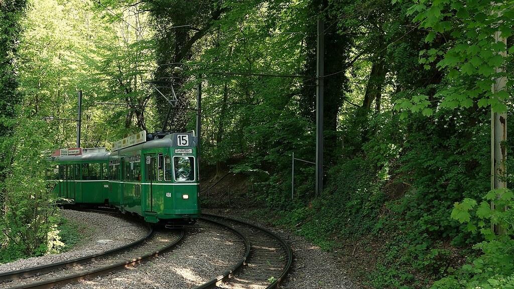 Tram Basel Switzerland