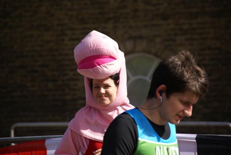 Two Different Faces 2014 London Marathon