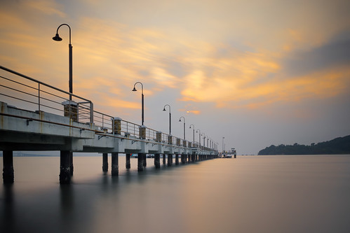 [K3GP6505pp-2048] Sunrise | Jerejak Jetty, Penang | by JW Hisham Marmin