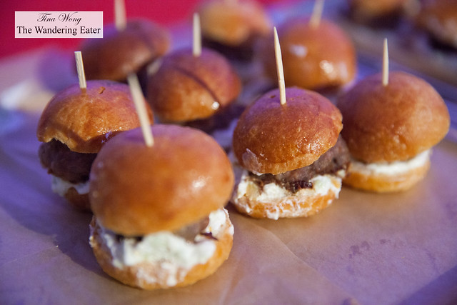 Grass fed beef sliders by Tiny Treats Cafe