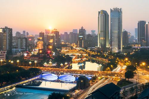 Chengdu Sunset | by 乐让菲力