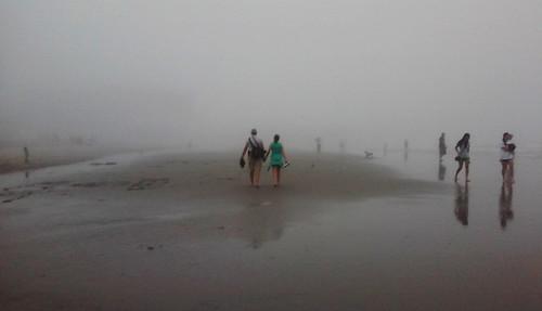 people fog landscape newjersey twilight outdoor nj atlanticcity