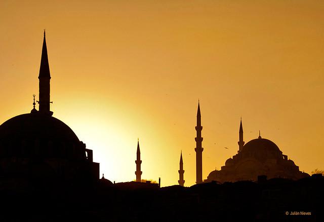 Atardecer en la ciudad de las mezquitas