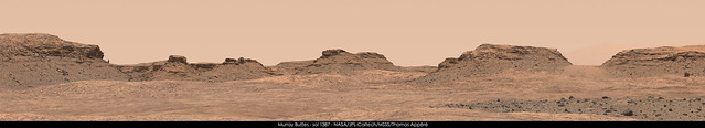 Murray Buttes - sol 1387