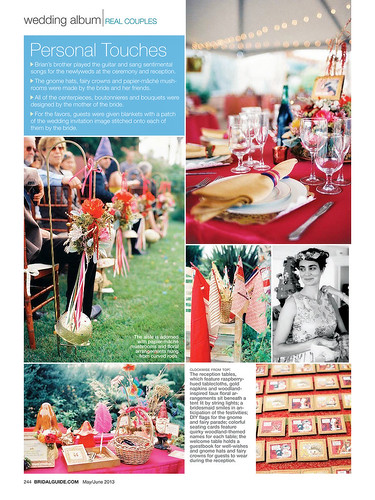 Bridal Guide Magazine Wedding Album feature | by The Brothers Wright