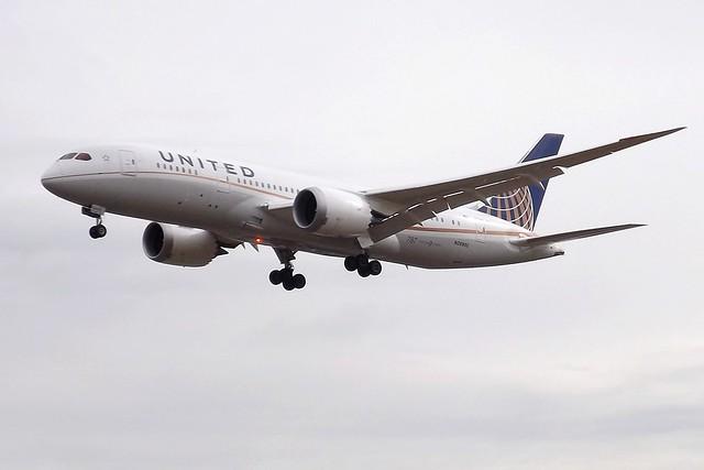 N26902 Boeing 787 United