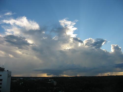 sunset sky cloud storm weather skyline clouds evening day skies atmosphere cumulus vista thunderstorm tallahassee storms subtropical cirrus thunderhead subtropics windowweather therebeastormabrewin cloudsstormssunsetssunrises